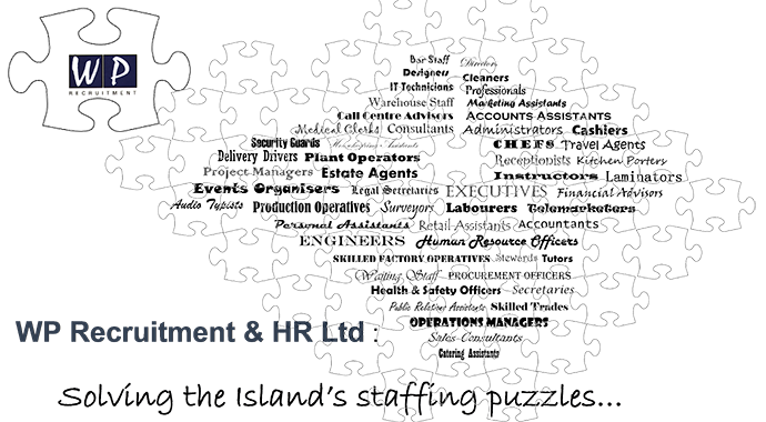 WP Recruitment & HR Ltd - Solving the Island's staffing puzzles